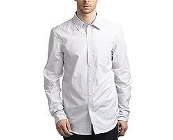 Scotchtree Men's Shirt (sco_014_White_Large)