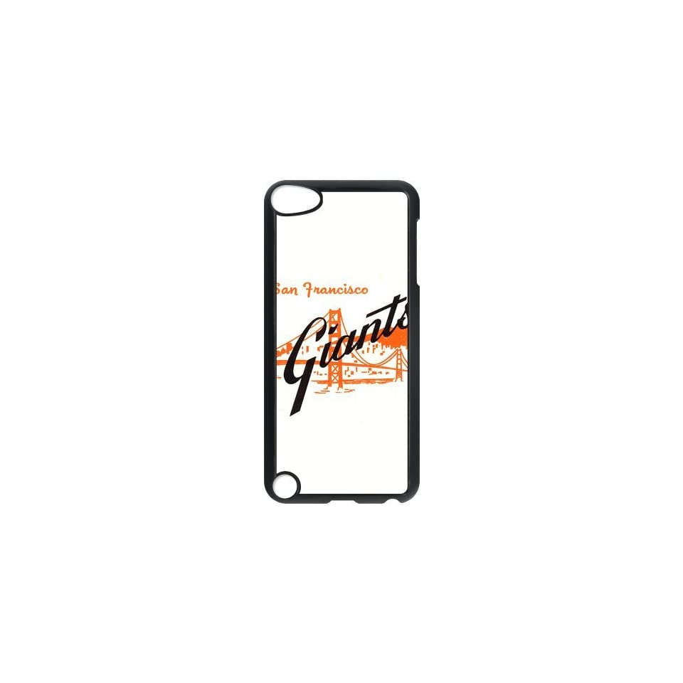 MLB San Francisco Giants Baseball Team Custom Design Hard Case High quality Cover For Ipod Touch 5 ipod5 NY198  Players & Accessories