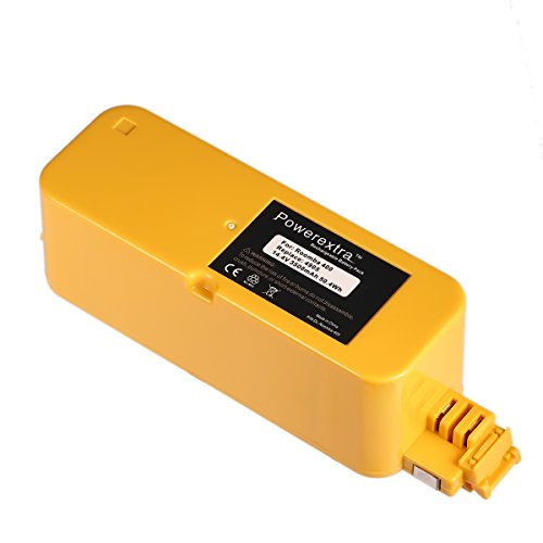 Powerextra 14.4V 3500mAh Ni-MH Replacement Battery for iRobot Roomba 400 series Roomba 400 405 410 415 416 418 4000 4100 4105 4110 4130 4150 4170 4188 4210 4220 4225 4230 4232 4260 4296 (Roomba Battery 4225 compare prices)