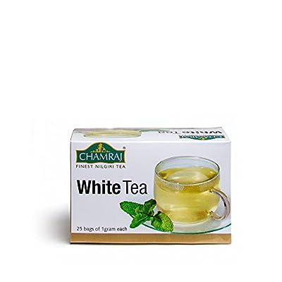 Chamraj weißer Tee Beutel - Tee vom blauen Berg, dem höchstgelegenen Anbaugebiet der Welt von Nilgiri Tea Estate auf Gewürze Shop