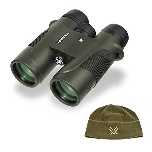 Best Buy! Vortex Optics Diamondback 10x42 D241 Roof Prism Binocular and FREE Vortex Polar Fleece Hat