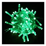 WOOTOP-10M 100 LED Green Fairy Light String Holiday Lights for Christmas Party LED-XS-Green