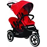 phil&teds Navigator Buggy Stroller with Second Seat, Cherry
