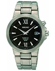 Seiko Men's SKA483 Kinetic Titanium Bracelet Watch