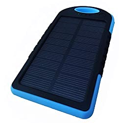 HashTag Glam 4 Gadgets Water Resistant Solar Power Bank 844