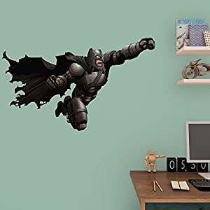 Fathead Batman vs. Superman - Attacking Batman Junior Wall Decal at Gotham City Store