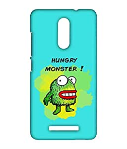Kritzels - Hungry Monster - Case For Xiaomi Redmi Note 3