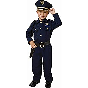 Award Winning Deluxe Police Dress Up Costume Set - Toddler T4