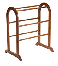 Winsome Wood Quilt Rack, Walnut