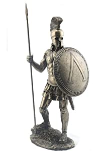 Amazon.com - Spartan Warrior with Spear and Hoplite Shield