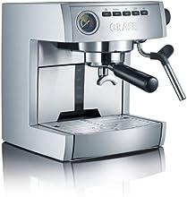 Graef Siebträger-Espressomaschine ES 85, Aluminium silber - Edelstahl matt