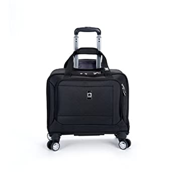 Delsey Luggage Helium Breeze 4.0 Spinner Trolley Tote, Black, One Size