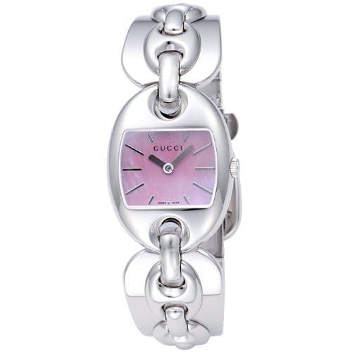 [グッチ]GUCCI 腕時計 マリナチェーン ピンクパール文字盤 YA121519 レディース 【並行輸入品】