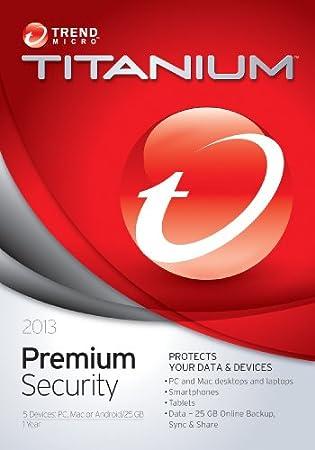 Trend Micro Titanium Maximum Security Premium 2013 (5-Users)