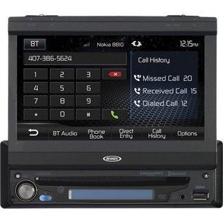"""Jensen Vm9215Bt 1-Din 7"""" Widescreen Lcd Multimedia Car Receiver"""