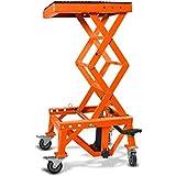 ConStands Hydraulik Hebebühne Moto Cross Lift XL + Rollen Orange KTM 450 SMR