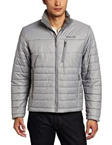 土拨鼠 Marmot Men's Caldera Jacket 热生态绝缘防寒服 灰色 $89.78