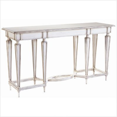 Cheap Belle Meade Signature Emerson Console Table in Vintage Ivory 228.VI (228.VI)