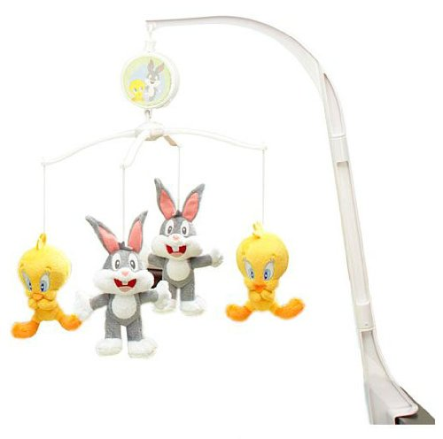 Baby Looney Tunes Musical Mobile - Nature's Fantasy