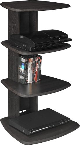 Furniture Home Theater System Media Stand Entertainment Rack Audio Console Shelf Ebay