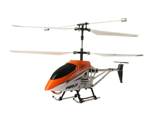 3.5-Channel 2 Speed Mode Metal Remote Control Helicopter with LED Lights