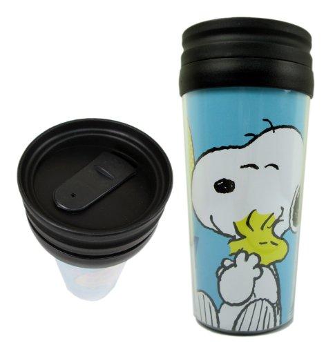 Blue Snoopy Travel Coffee Cup - Travel Coffee Mug