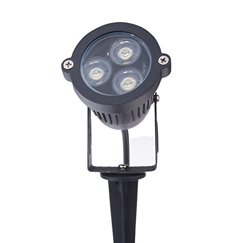 Sunsbell®Outdoor 6W Led Waterproof Outdoor Lighting For Garden Courtyard Lawn Spotlight With Rod Warm White