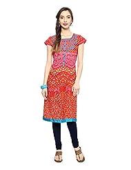 Rangmanch By Pantaloons Women's Cotton A-Line Kurta