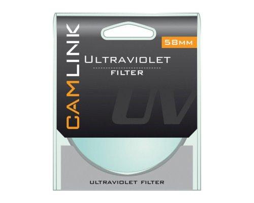 Camlink Ultra Violet Camera Lense Filter 58 mm