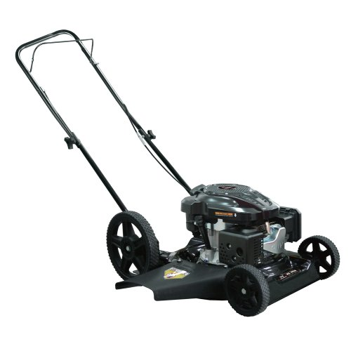 Warrior Tools Wr65486B Gas Powered Push Lawn Mower, 21-Inch, Red