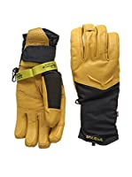 Salewa Guantes Ortles Gtx/Prl Gloves (Camel / Negro)