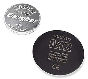 Suunto Ersatzteil M2 Battery Replacement Kit, Black, One size, SS016740000