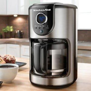 Kitchenaid Coffee Maker How To Use : Amazon.com: Kitchenaid Kcm111ob Digital 12-cup Glass ...