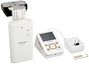 Panasonic ワイヤレスドアモニター ドアモニ モカ ワイヤレスドアカメラ+モニター親機 各1台セット VL-SDM110-T