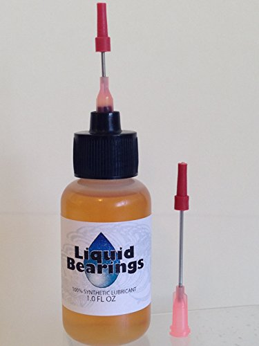 Liquid Bearings Oil for O Scale Trains and Model Railroads, 100%-synthetic, Provides Superior Lubrication, Also Prevents Rust (Steam Engine Lubricant compare prices)