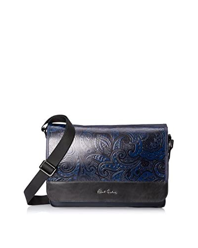 Robert Graham Men's Vidal Messenger Bag, Navy