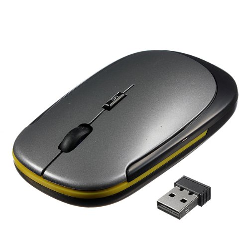 2.4Ghz Ultra-Slim Usb Wireless Optical Mouse Mice For Computer Macbook Pc Laptop