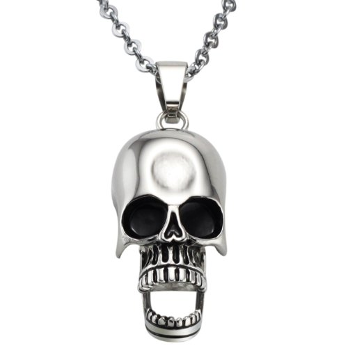 Opk Jewellery Necklace New Design Stainless Steel Neckwear Chains Cool Skull For Men's Pendants Necklets,Men's Necklace