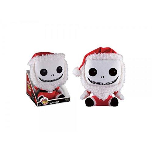 Nightmare Before Christmas Santa Jack Mega Pop! Plush (Santa Jack Funko compare prices)