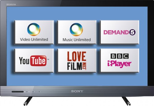 Sony KDL22EX320BU 22-inch Widescreen HD Ready Edge LED Internet TV with Freeview