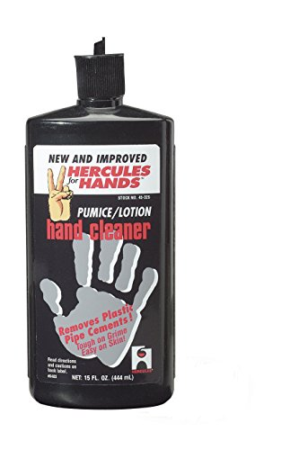Oatey 45325 Hercules For Hands Pumice Lotion Hand Cleaner