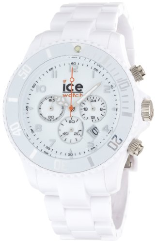 Ice-Watch Men'S Ch.We.B.P.09 Chrono Collection White Dial White Strap Watch
