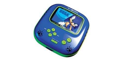 Coby TF-DVD560 3.5-InchTFT Portable DVD/CD/MP3 Player with Sega Game