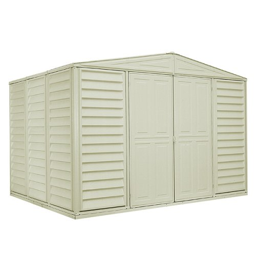DuraMax Model 00211 10×8 WoodBridge Vinyl Storage Shed