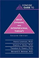 Concise Guide to Brief Dynamic Psychotherapy