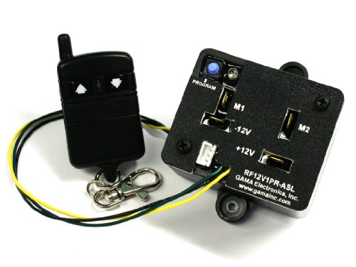 Review RF Remote Control Reverse Polarity 12VDC Motor Control with Auxiliary Switch Input