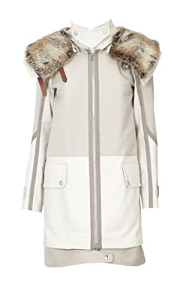 Faux Fur Collar Padded Parka