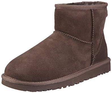 UGG Women's Classic Mini Boot Chocolate Size 8