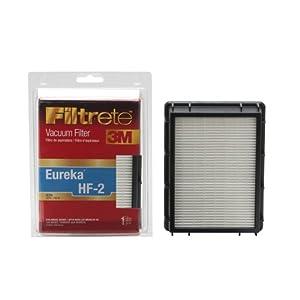 3M Filtrete Eureka HF-2 HEPA Vacuum Filter, 1 Pack