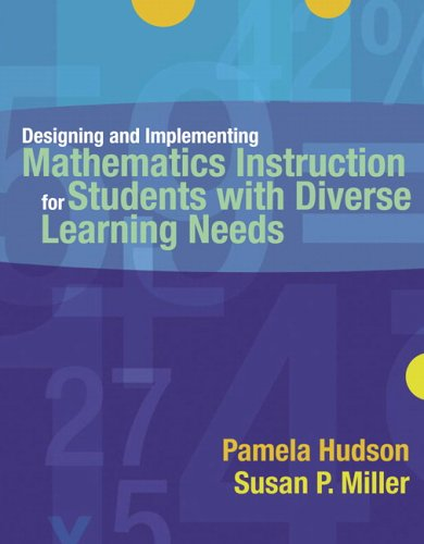 Designing and Implementing Mathematics Instruction for...